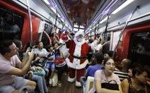 Chùm ảnh vui nhộn với ông già Noel khắp nơi