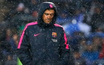 "Luis Enrique: ""Barcelona vẫn đủ thời gian bắt kịp Real Madrid"""