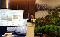 Microsoft mở cổng thông tin MSN Việt Nam
