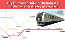 Toàn cảnh dự án tuyến metro số 1 Bến Thành - Suối Tiên