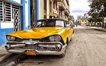 Lung linh những chiếc xe cổ trên đường phố Havana