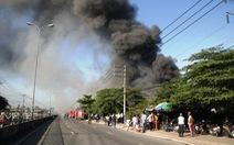 Cháy 1.600m2 nhà xưởng của Công ty sản xuất nội thất