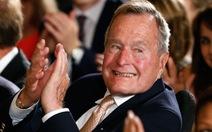 Cựu tổng thống George H.W. Bush nhập viện vì khó thở