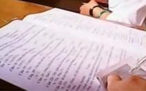 Đề thi học trò, đề thi công chức