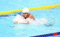 Ánh Viên đua cùng Thạch Kim Tuấn