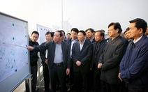 Thủ tướng kiểm tra dự án ở Nội Bài