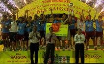 Quahaco FC vô địch toàn quốc Cúp phong trào Bia Sài Gòn
