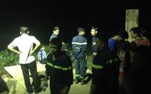 Chìm ghe trên kênh Xáng Hóc Môn, một thanh niên mất tích