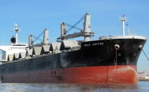 VN cứu nạn khẩn cấp tàu Bulk Jupiter chìm trên biển Đông