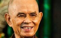 Thiền sư Thích Nhất Hạnh đã nhận biết xung quanh
