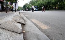 Lát vỉa hè bằng đá granit:Đẹp nhưng bất tiện