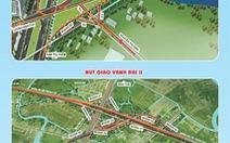 868 tỉ đồng xây dựng đường song hành cao tốc giảm ùn tắc