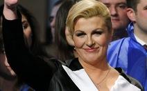 Croatia có nữ tổng thống đầu tiên