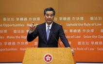 Lãnh đạo Hong Kong khẳng định quan điểm cứng rắn về bầu cử