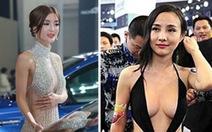 Cấm người mẫu mặc hở nửa thân tại triển lãm xe