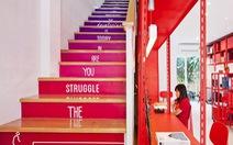 Những cầu thang độc đáo truyền cảm hứng