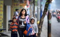 Nghệ An sương mù, Sài Gòn khăn len áo ấm