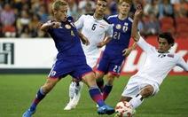 Nhật Bản thắng dễ Iraq trong ngày đen đủi của Honda