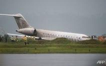 Máy bay chở nhóm trợ lý tổng thống Philippines trượt đường băng