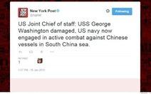 Tin tặc tung tin chiến tranh Mỹ-Trung
