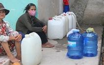 Hoảng hồn vì cúp nước