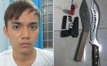 Thanh niên 24 tuổi rút súng bắn người trong quán nhậu