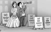 Đám cưới: bên mời lẫn bên dự đều ngày càng tính toán