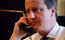 Thủ tướng Anh bị kẻ mạo danh điện thoại... lừa