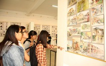 Triển lãm sáng táccủa sinh viên về di sản văn hóa cổ