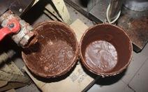 Sản xuất bánh kẹo giả bằng ca cao phế phẩm