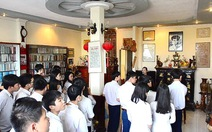 Đi học tại nhà lưu niệm Nguyễn Bính