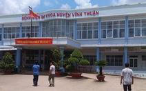 Bắt ba nguyên cán bộ Bệnh viện huyện Vĩnh Thuận