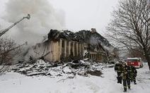 Cháy lớn thiêu rụi1 triệu tài liệu quý của Nga