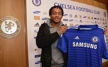 Cuadrado gia nhập Chelsea với giá 27 triệu bảng