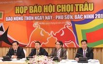 """Hội chọi trâu Bắc Ninh: """"hội"""" chứ không phải """"lễ hội"""""""
