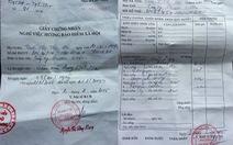 Bán khống giấy chứng nhận bệnh cho công nhân