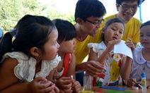 Mang xuân ấm đến trẻ em nghèo