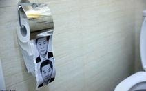 Trung Quốc thu hồi giấy vệ sinh in hình ông Lương Chấn Anh