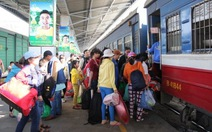 Các bến xe, ga tàu bắt đầu phục vụ tết