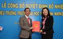 Ông Trần Hoàng Ngân làm hiệu trưởng trường ĐH Tài chính–Marketing