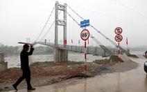 Khánh thành cầu treo dân sinh vượt sông Đáy