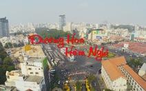 Xem clip đường hoa Sài Gòn quay bằng flycam