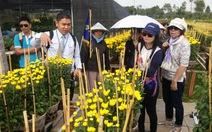 Hàng ngàn khách Việt du xuân