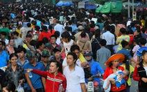 500 ngàn khách thập phương tràn ngập núi Bà Đen