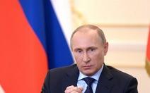 Tổng thống Nga Putin: không dễ xảy ra chiến tranh với Ukraine