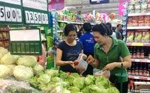 """Sau tết, rau và hải sản các chợ vẫn """"ổn định"""" giá... cao"""