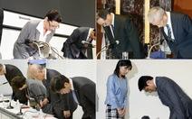 Giải quyết xì-căng-đan ở Nhật: Trước hết là xin lỗi!
