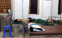 Một thanh niên nhập viện do trúng đạn