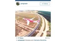 Máy bay không người lái xuất hiện ở sân bay Malaysia