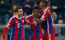 Bayern Munich nhẹ nhàng vào tứ kết Cúp QG Đức